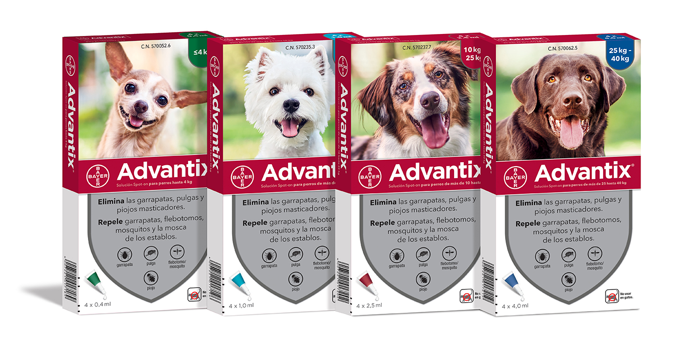 ADVANTIX 4*4.0 ML (+ 25 KG) 4 PIP