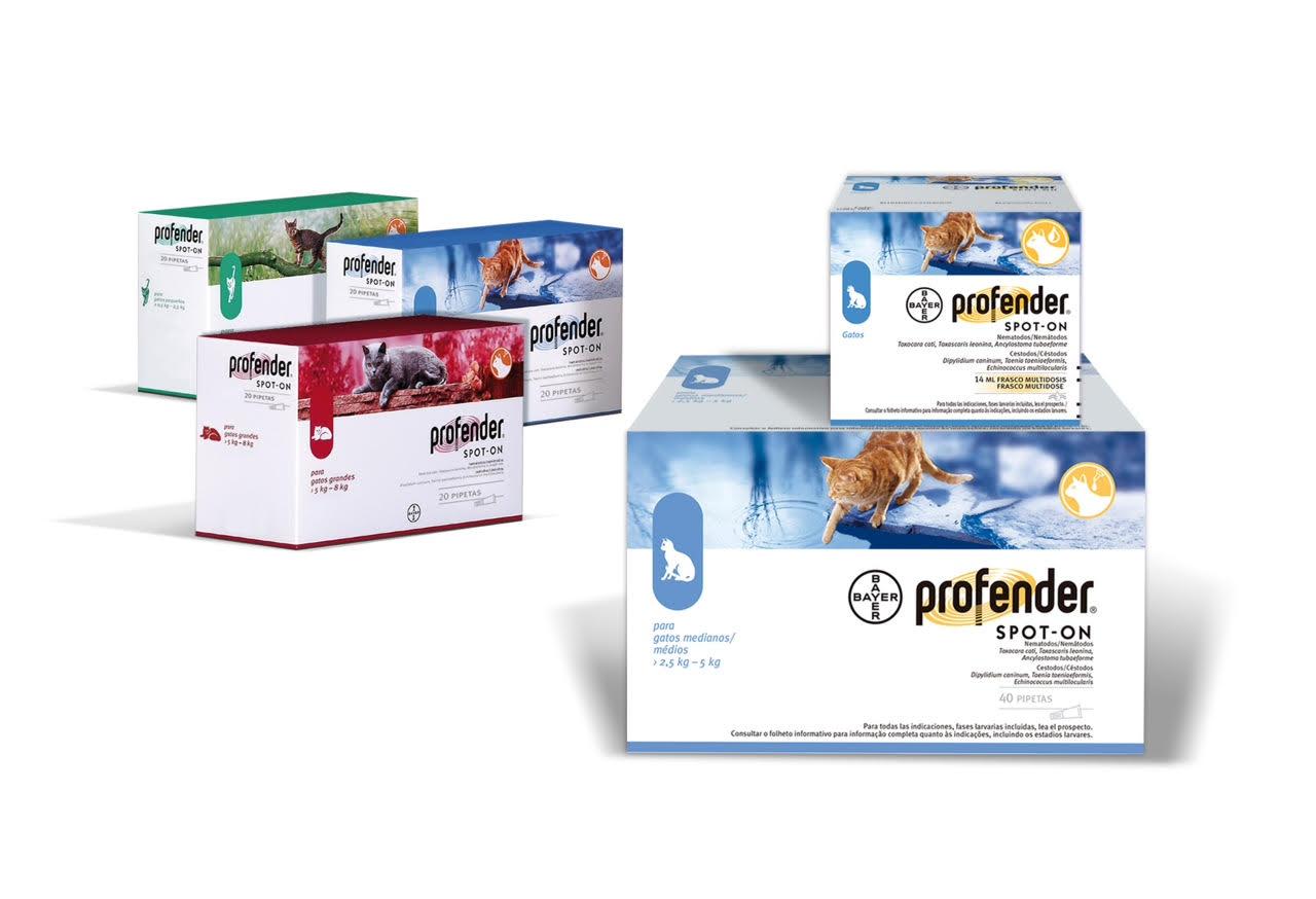 PROFENDER SPOT-ON GATOS 2.5-5 KG 0,7 ML 20 PIP