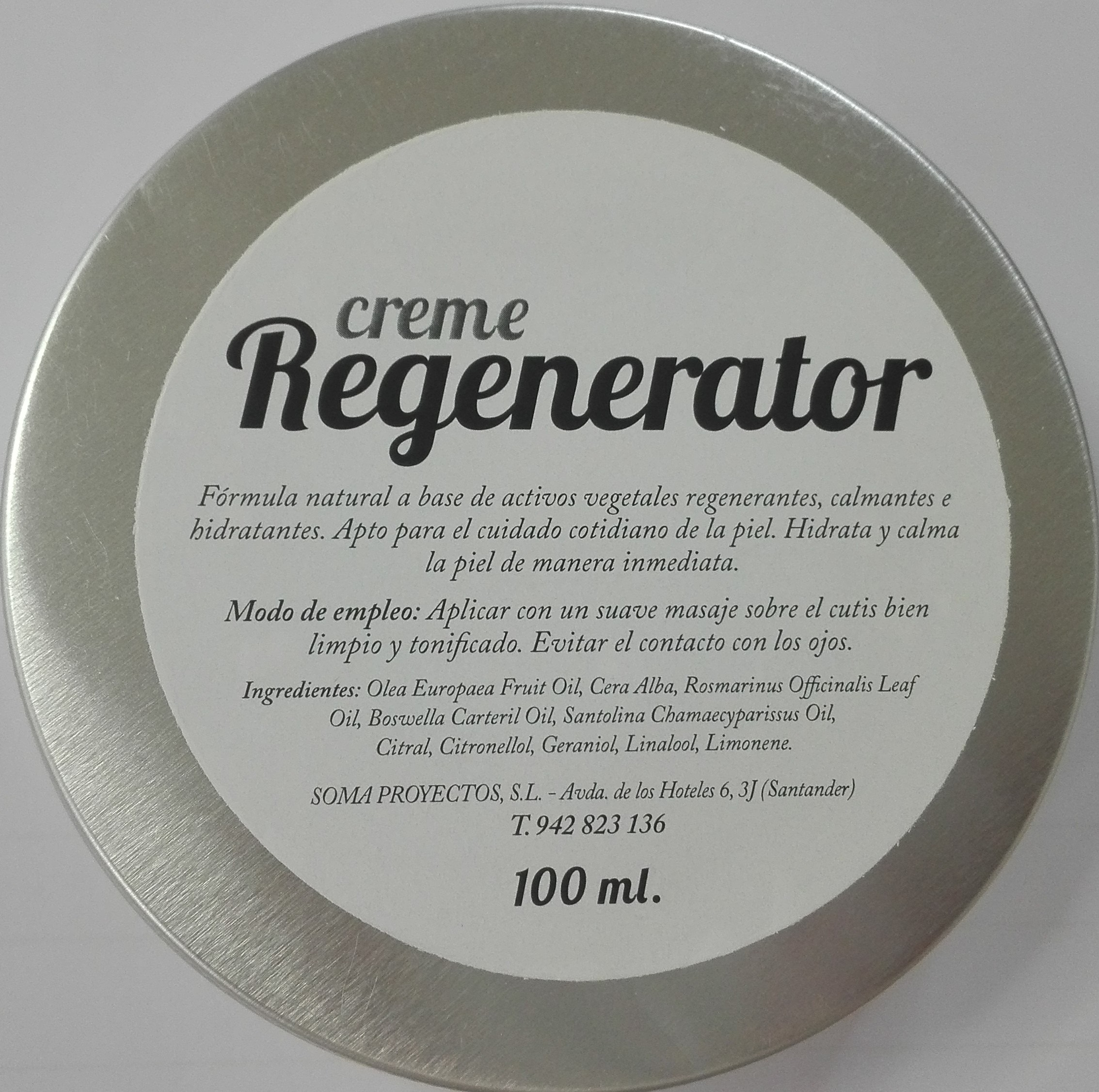 CREMA REGENERADORA 100 ML