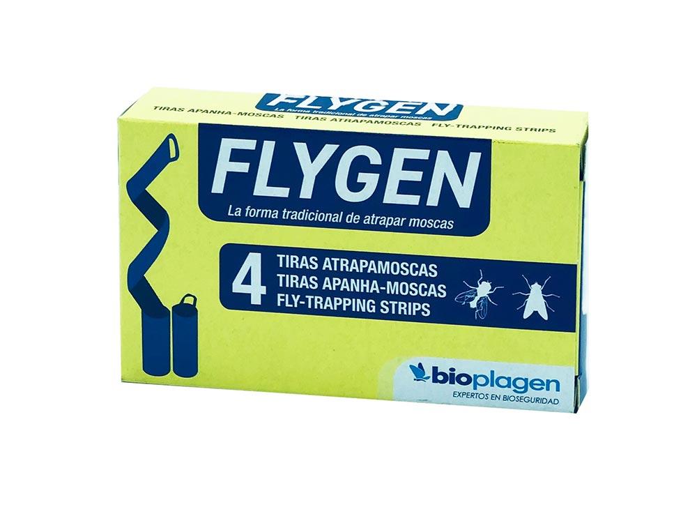 FLYGEN TIRAS ATRAPAMOSCAS 4 UDS (AEROXON)