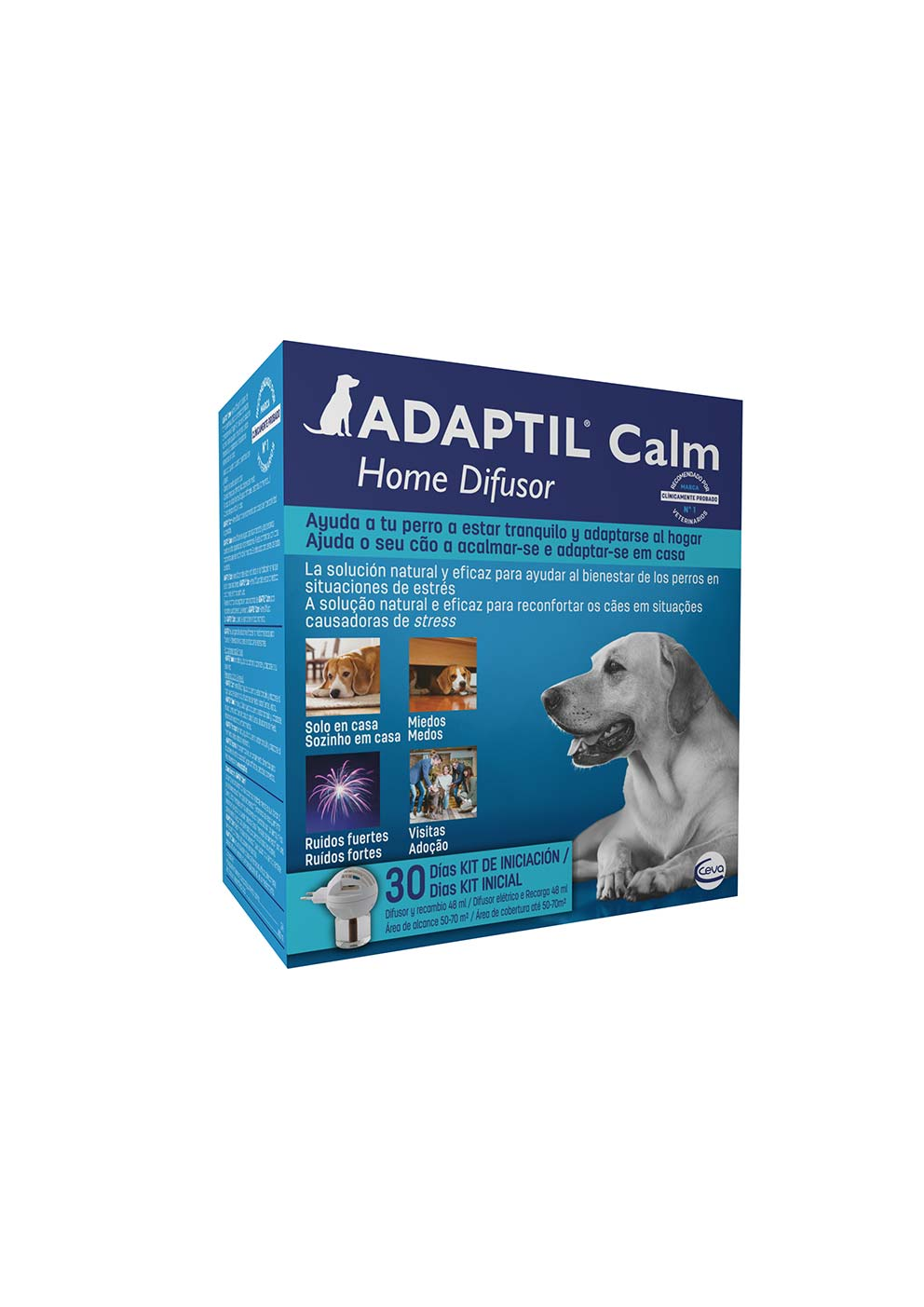 ADAPTIL CALM HOME DIF + REC 48 ML