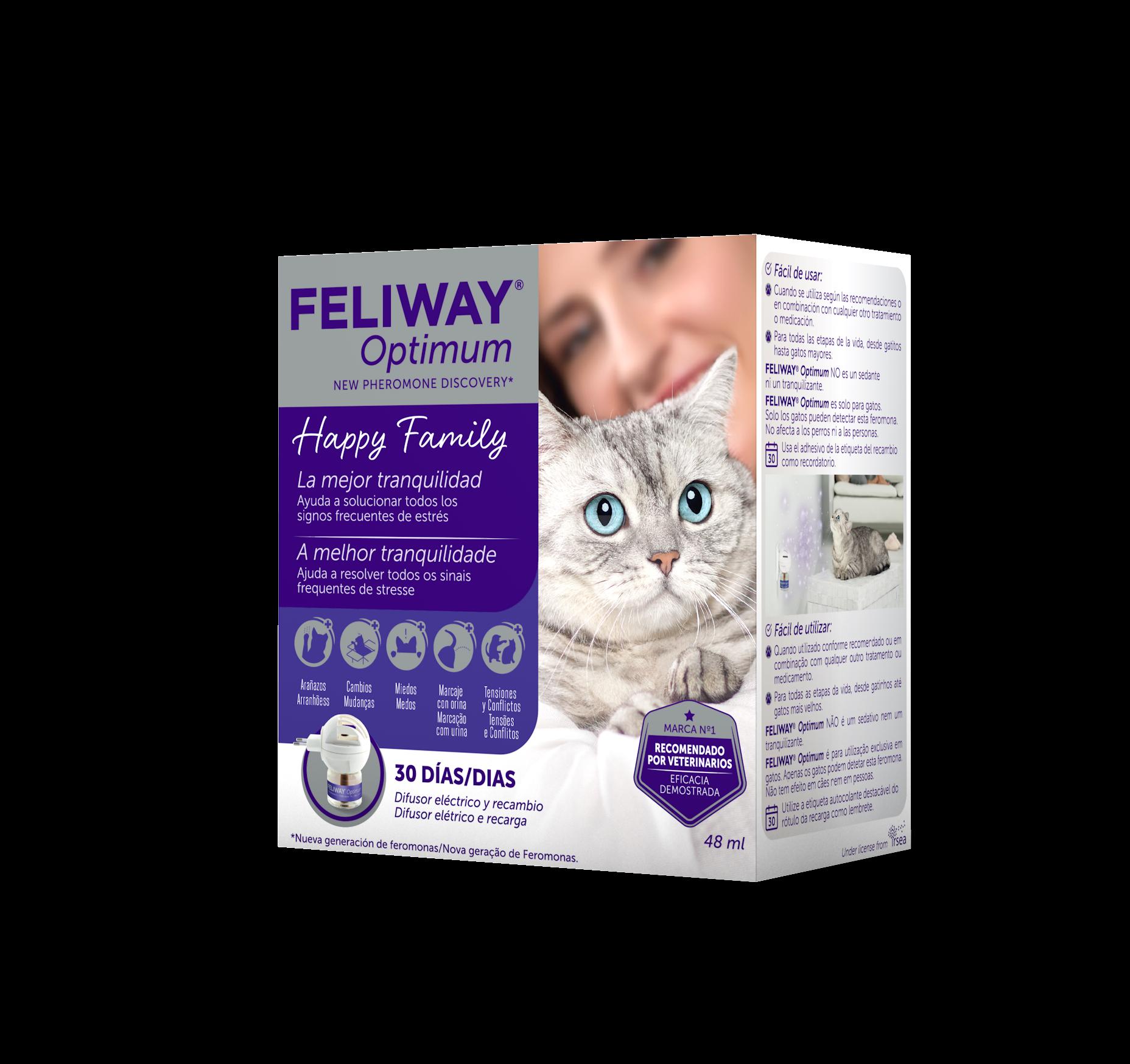 FELIWAY OPTIMUM DIFUSOR+RECAMBIO 48 ML