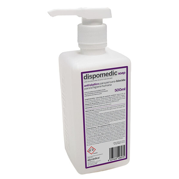 DISPOMEDIC SOAP 500 ML (DESINCLOR JABON )