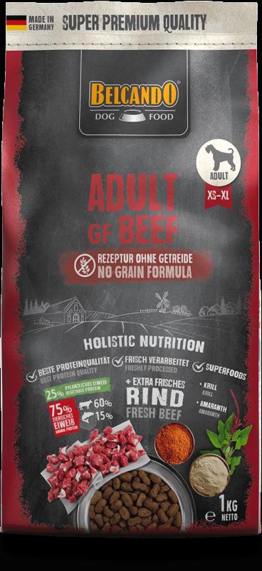 BELCANDO ADULT GRAIN FREE BEEF 4 KG (3941)
