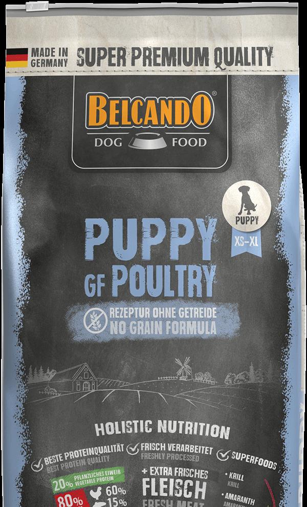 BELCANDO PUPPY GRAIN FREE POULTRY 4 KG (3132)