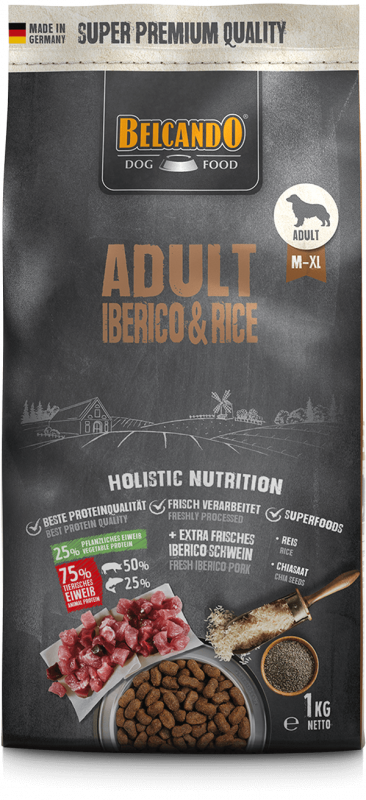 BELCANDO ADULT IBERICO & RICE 4 KG (4269)