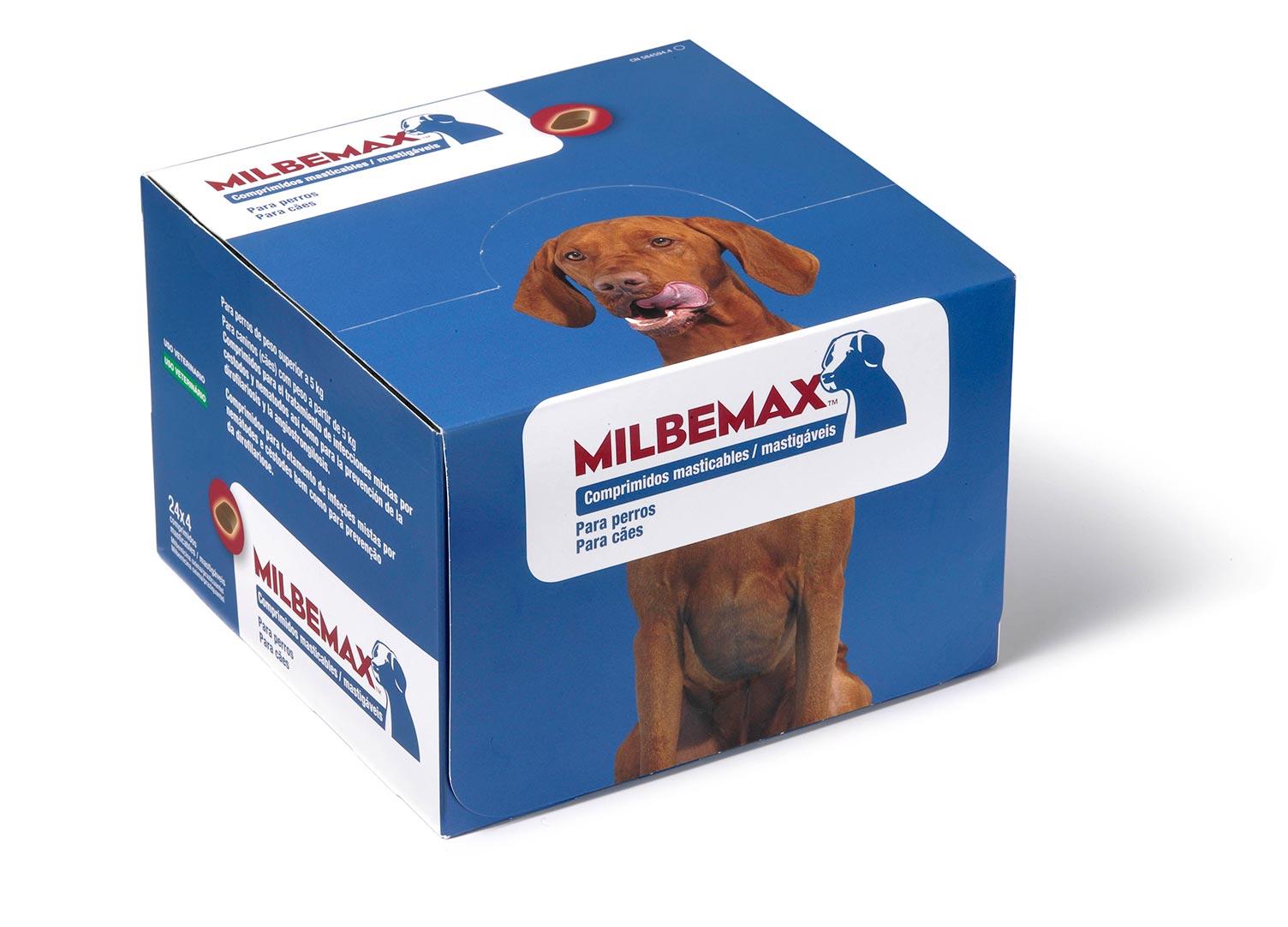 MILBEMAX PERRO 5-75 KG 96 COMP MAST