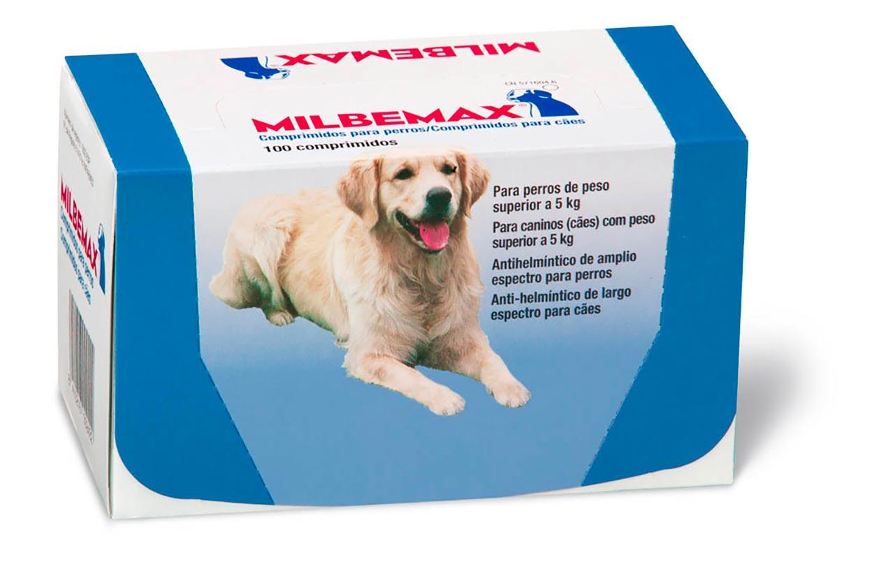 MILBEMAX PERRO 5-75 KG 100 COMP+SOBRES