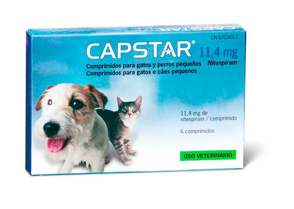 CAPSTAR (11.4MG) 1-11 KG 6 COMP