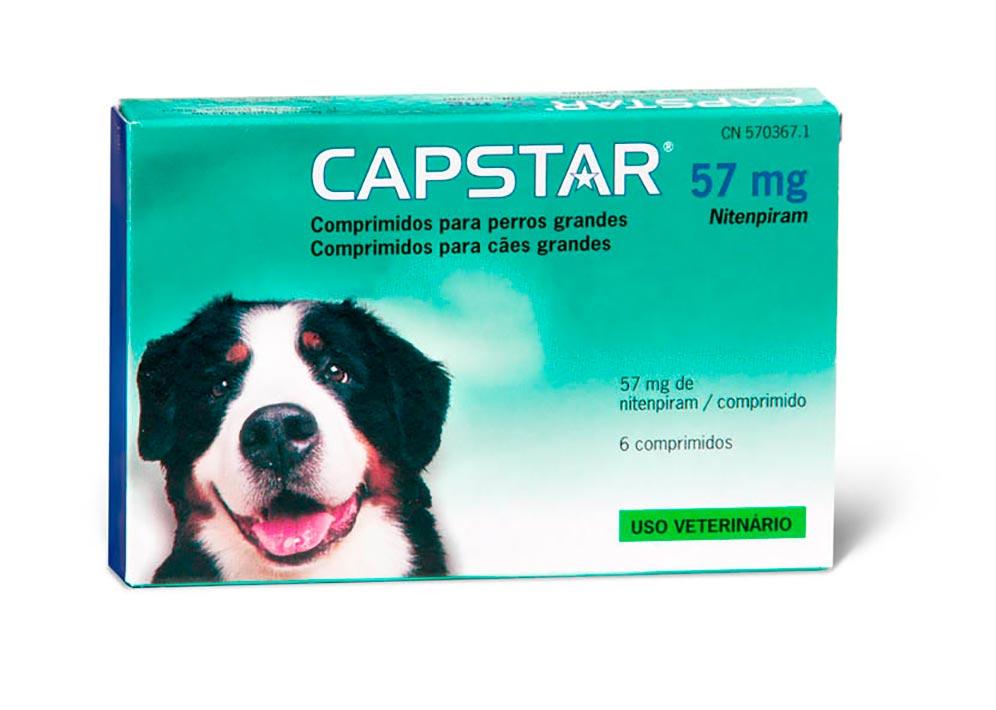 CAPSTAR (57 MG) 11- 60 KG 6 COMP