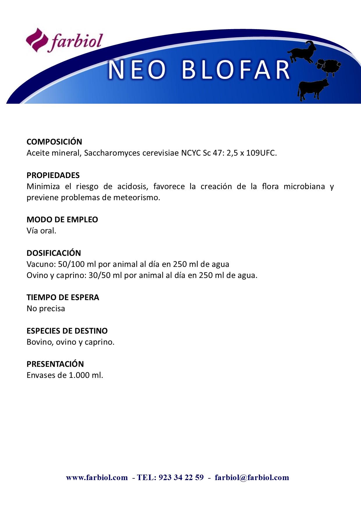 NEOBLOFAR-FBL 1 L