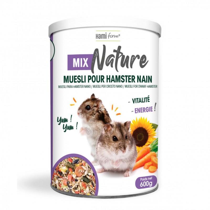 HAMIFORM MIX NATURE MUESLI HAMSTER NAIN 600 G (02818)
