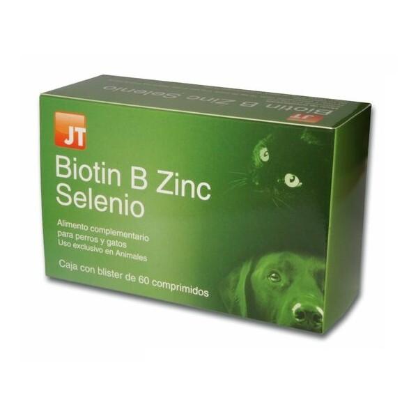 JT BIOTIN B ZINC SELENIO 60 COMP