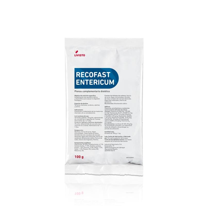 RECOFAST ENTERICUM 100 G