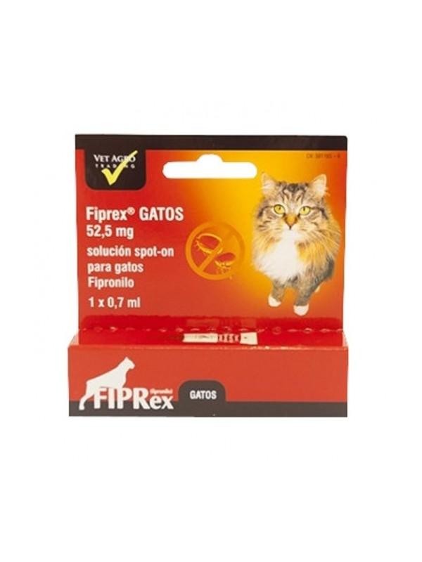 """FIPREX """"C"""" GATOS 52.5 MG 1 PIP"""