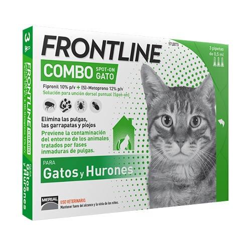 FRONTLINE COMBO GATOS 3 PIP