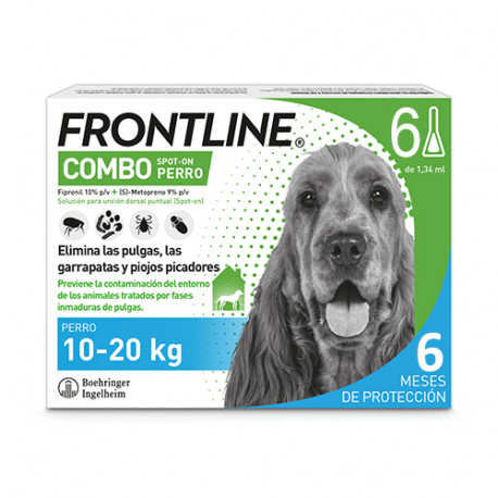 FRONTLINE COMBO PERROS 10-20 KG 6 PIP