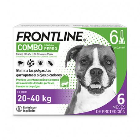 FRONTLINE COMBO PERROS 20-40 KG 6 PIP
