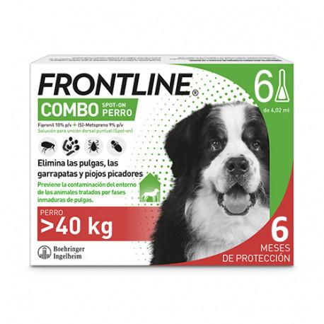 FRONTLINE COMBO PERROS +40 KG 6 PIP