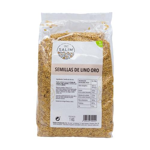 SEMILLA LINO DORADO 1 KG