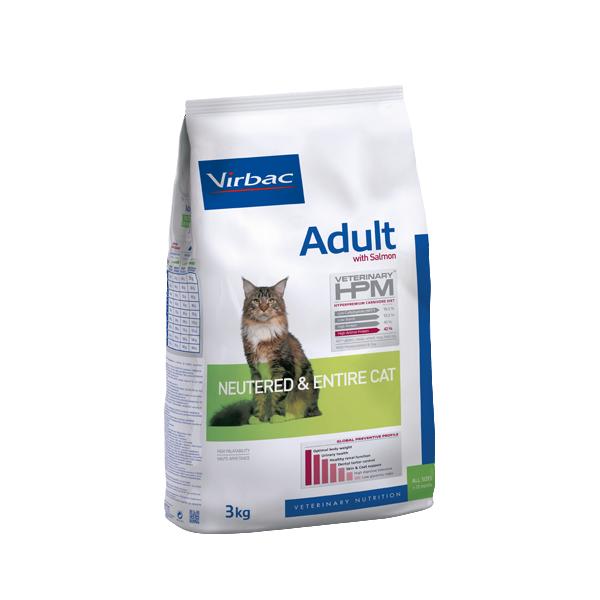 VETC ADULT W SALMON NEUTERED& ENTIRE CAT 1,5 KG (REF.AC360065)