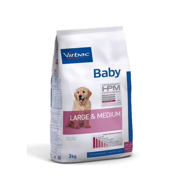 VETC BABY DOG LARGE & MEDIUM 3 KG (AD360013)