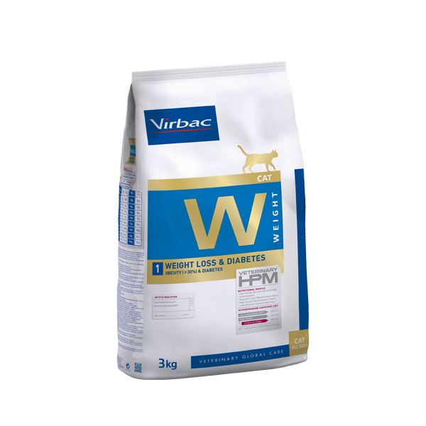 VETC W1-CAT WEIGHT LOSS & DIABETES 1,5 KG (AC360092)