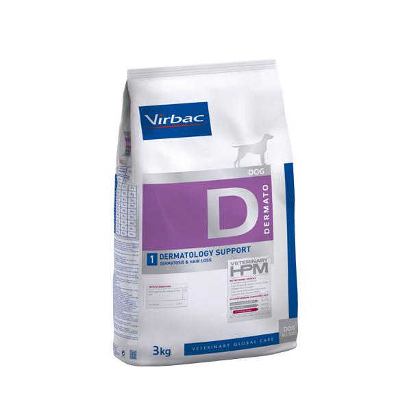 VETC D1-DOG DERMATOLOGY SUPPORT 3 KG (AD360115)