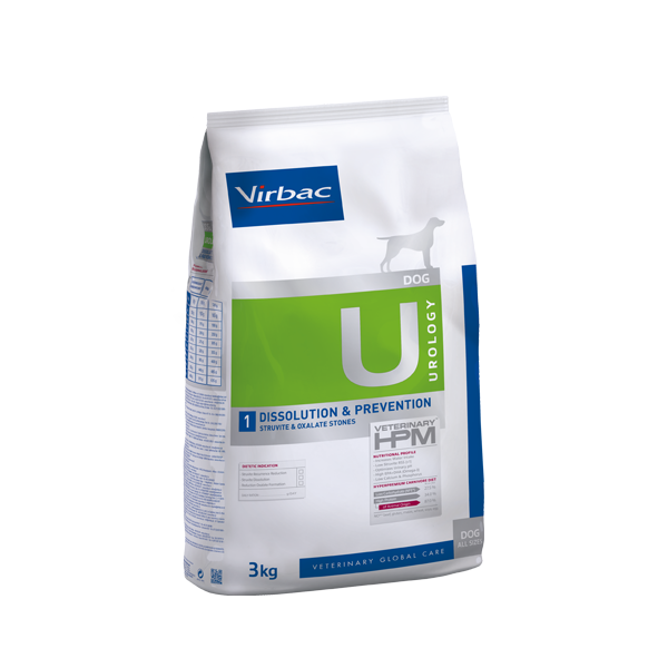 VETC U1-DOG UROLOGY DISSOLUTION & PREVENTION 12 KG (AC360124)