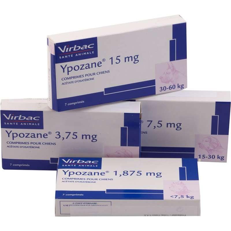 YPOZANE 15 MG 7 COMP
