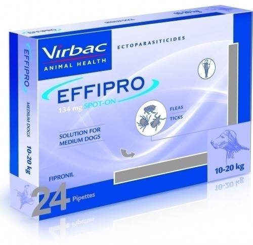 EFFIPRO PERROS 10-20 KG 24 PIP (MED)