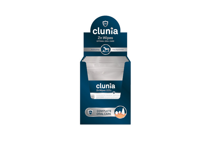 CLUNIA ZN WIPES 10 UDS
