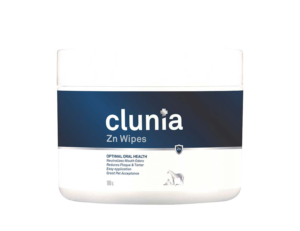 CLUNIA ZN WIPES 100 UDS