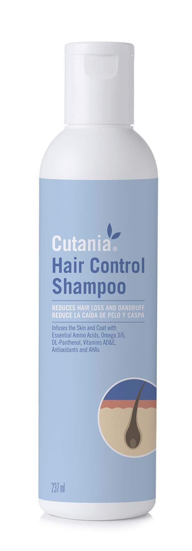 CUTANIA HAIR CONTROL SHAMPOO 237 ML