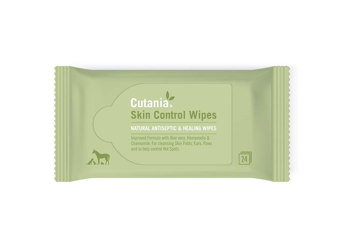 CUTANIA SKIN CONTROL WIPES 24 UDS