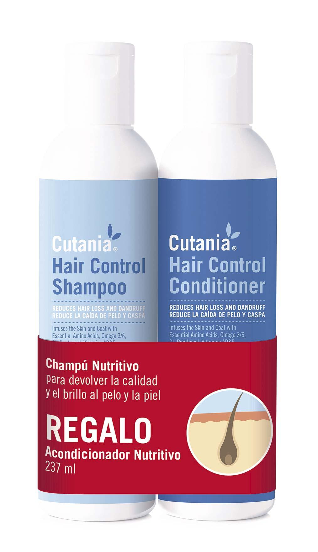 PACK CUTANIA HAIR CONTROL 236 ML