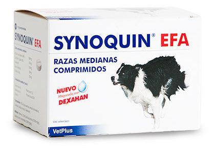 SYNOQUIN EFA RAZAS MEDIANAS 120 COMP