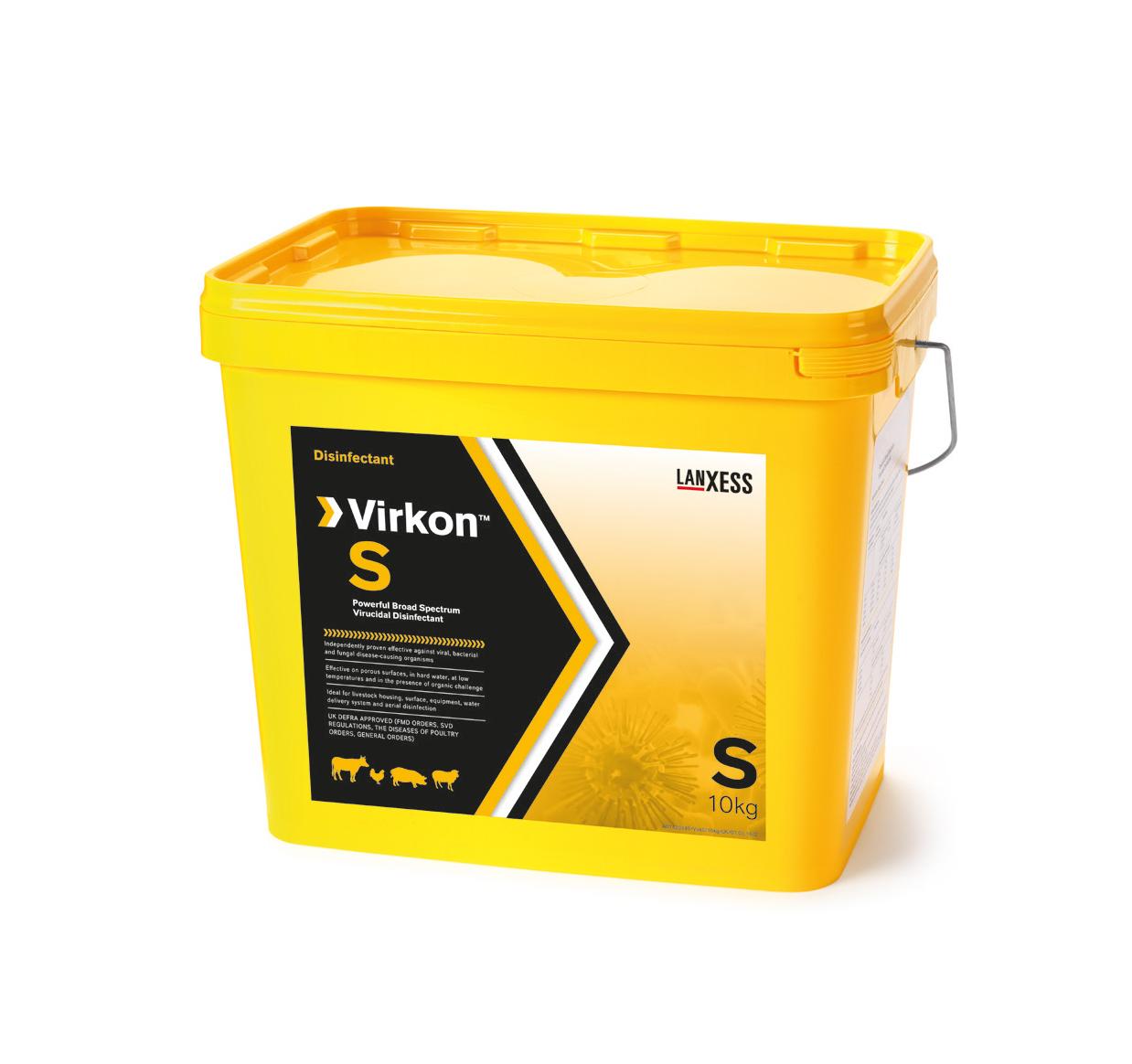 VIRKON S 2,5 KG ((D))