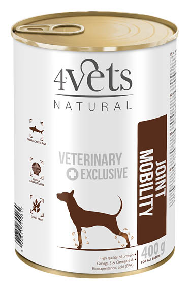 4VETS DOG JOINT MOBILITY 6 X 185 G (13078)