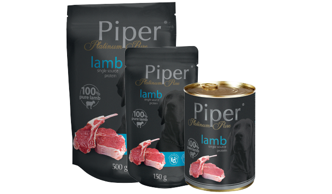 PIPER PLATINUM PURE LAMB 400 G (13042)