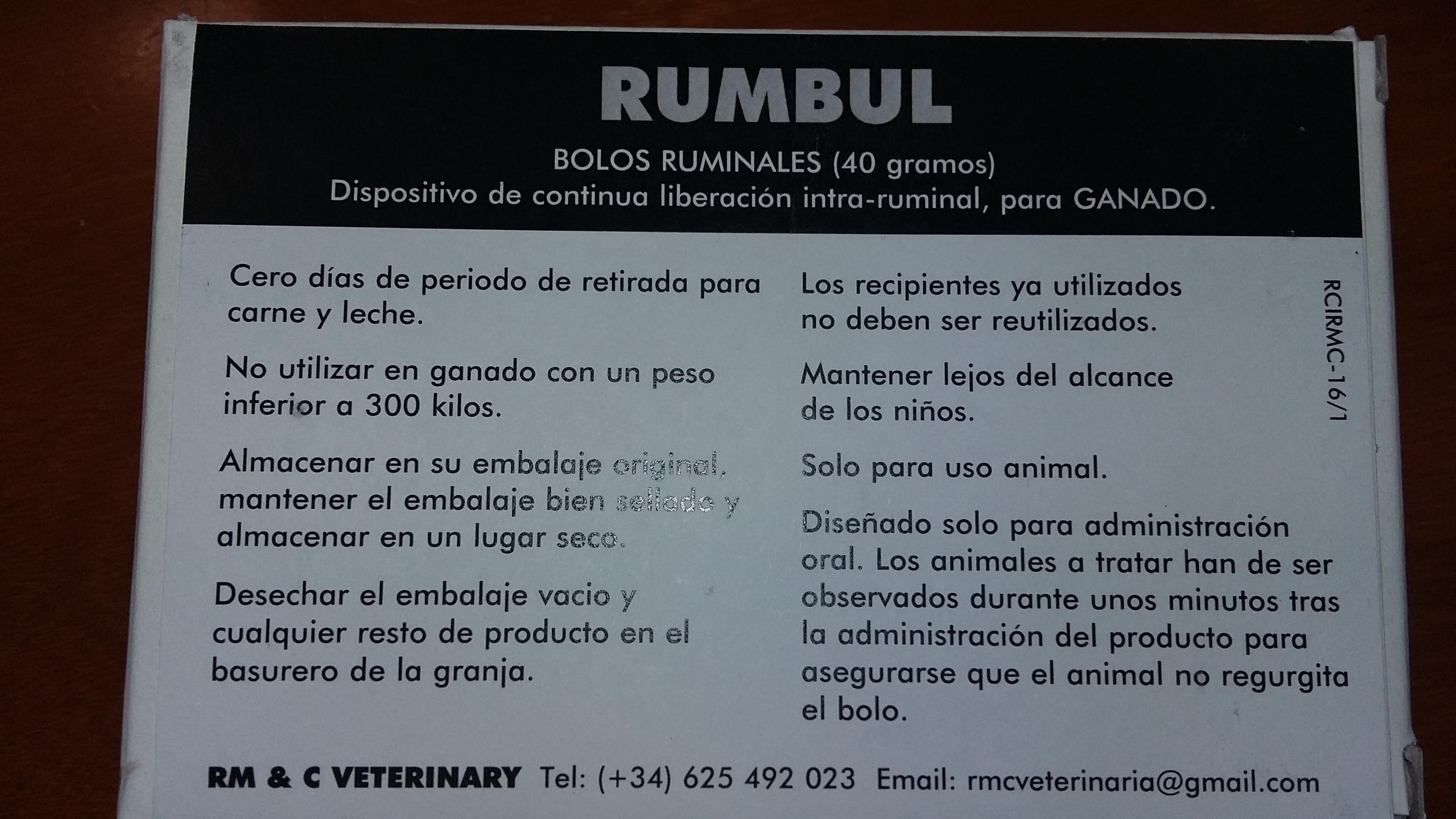 RUMBUL 10 BOLOS